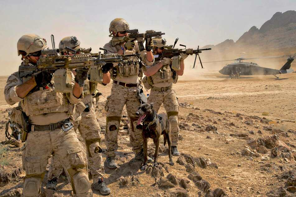 The US War in Afghanistan has raged since 2001 (archive image).