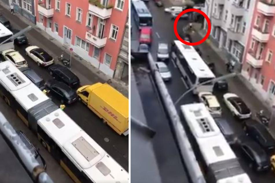 """Verfolgungsjagd und Crash wegen Verkehrskontrolle: """"Nehmen Sie die Hände hoch, Du Wichser!"""""""