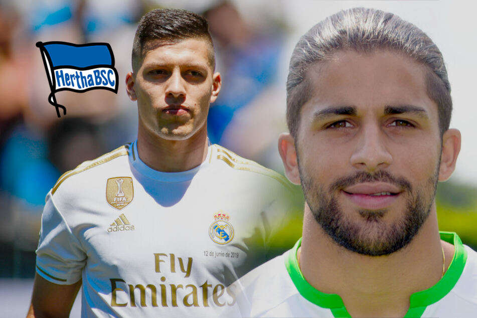 Hertha zeigt Interesse an Luka Jovic und Ricardo Rodríguez!