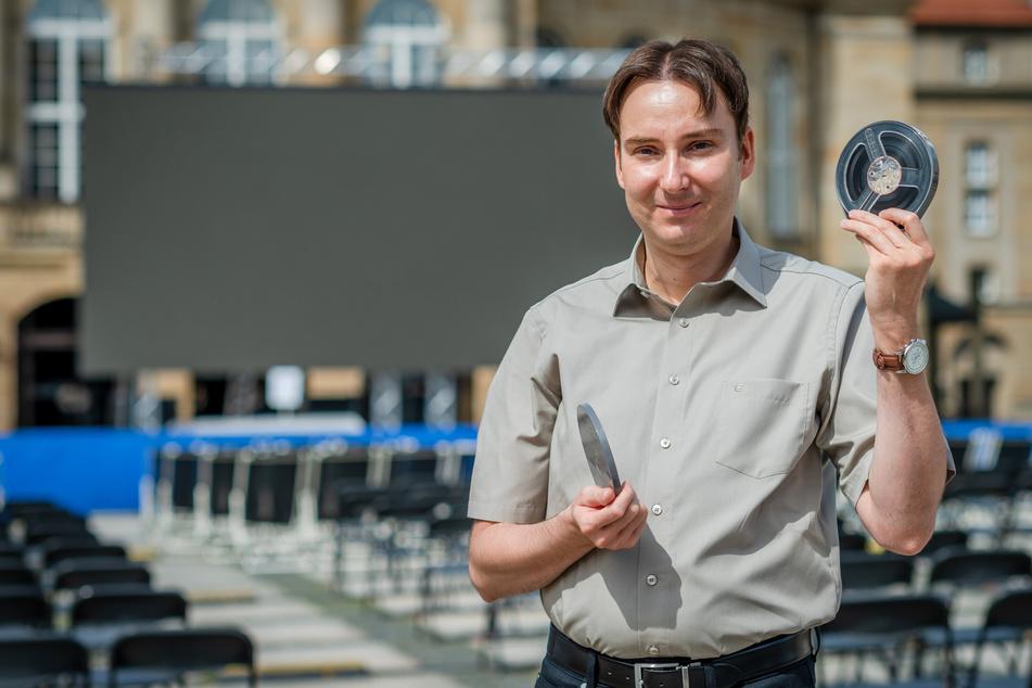 Sandro Schmalfuß (43) veranstaltet am 1. August bei den Filmnächten ein Benefiz-Event.
