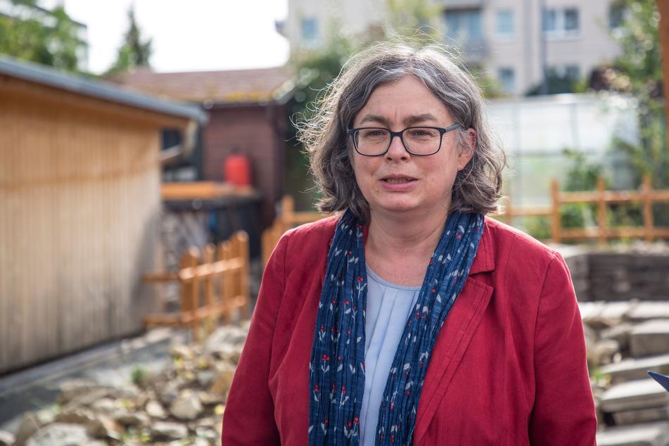 Umweltbürgermeisterin Eva Jähnigen (55, Grüne).