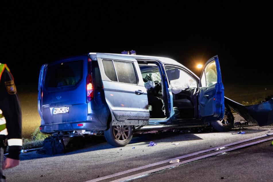 Auch der Ford-Fahrer starb noch an der Unfallstelle.