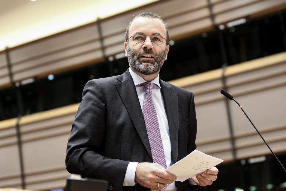 Manfred Weber (48), Vorsitzende der großen EVP-Fraktion. (Archivbild)