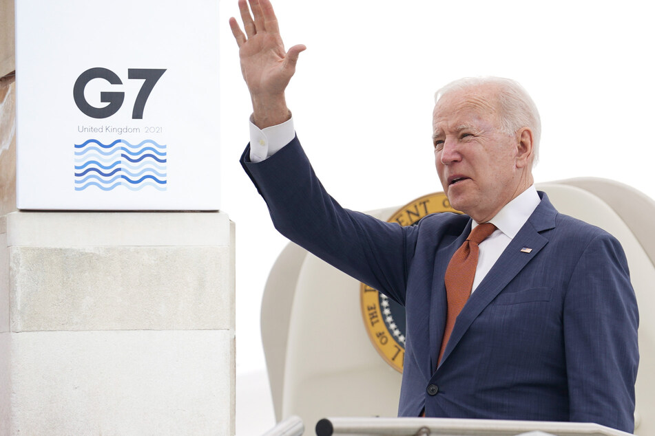 Joe Biden auf Reisen: In einer Woche Treffen mit Merkel, Putin, Johnson und der Queen