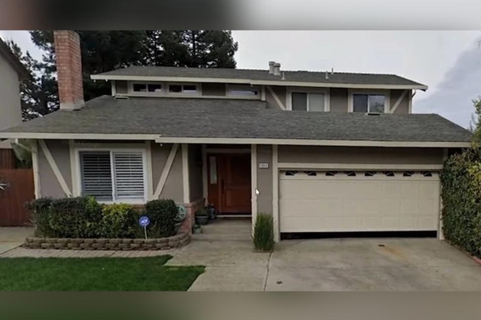 In diesem Haus in Los Angeles hat sich die schreckliche Tat abgespielt.