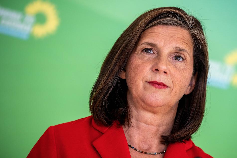 Die Grünen-Fraktionsvorsitzende Katrin Göring-Eckardt (55) geht auf Distanz zu den Linken.