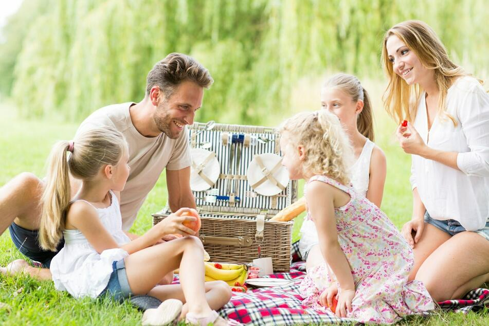 Picknick ganz ohne Vorbereitung: Fertige Picknickkörbe gibt es im Carolaschlösschen.