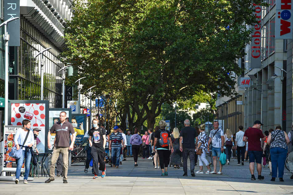 Händler in der Innenstadt fürchten um ihre Umsätze.