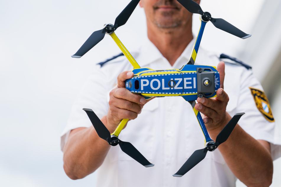Solche Polizei-Drohnen sollen künftig noch höufiger in Bayern zum Einsatz kommen.