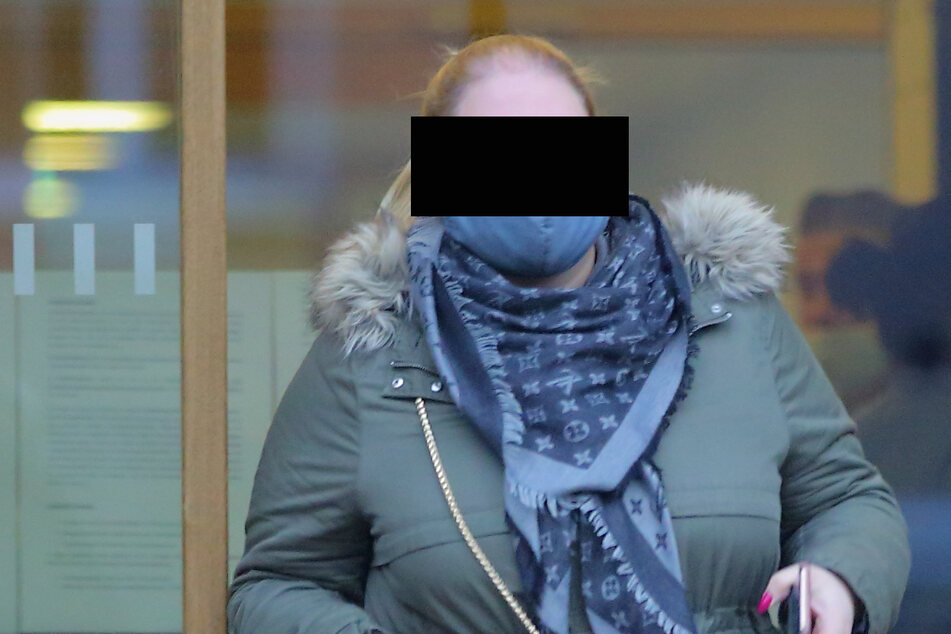 Gina-Maria S. (23) musste sich wegen falscher Verdächtigung vor dem Amtsgericht in Dresden verantworten.
