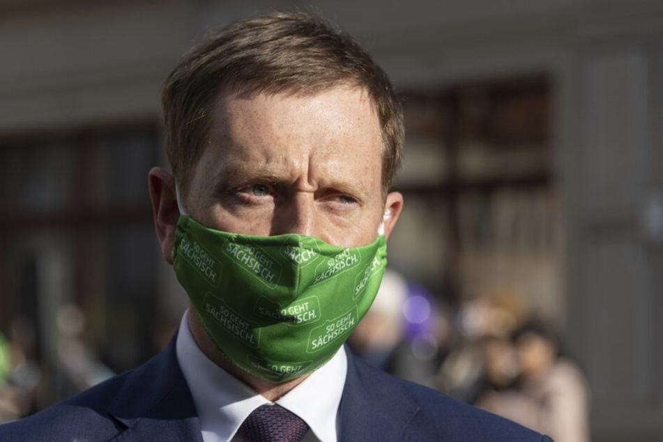Ministerpräsident Michael Kretschmer plädiert für Solidarität gegenüber Russland.