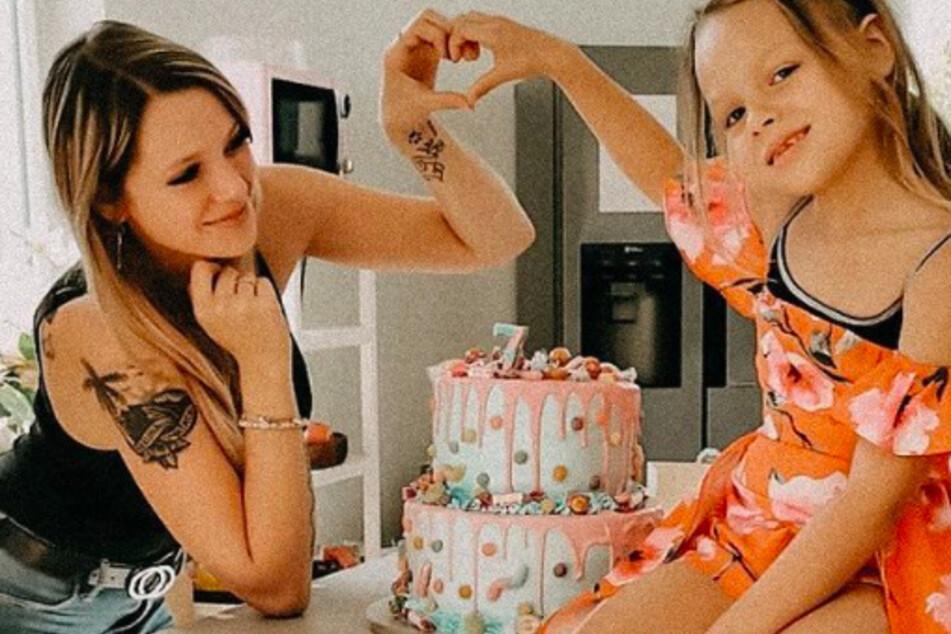 Tochter Miley (7) hatte der Influencerin in der Vergangenheit große Sorgen bereitet.