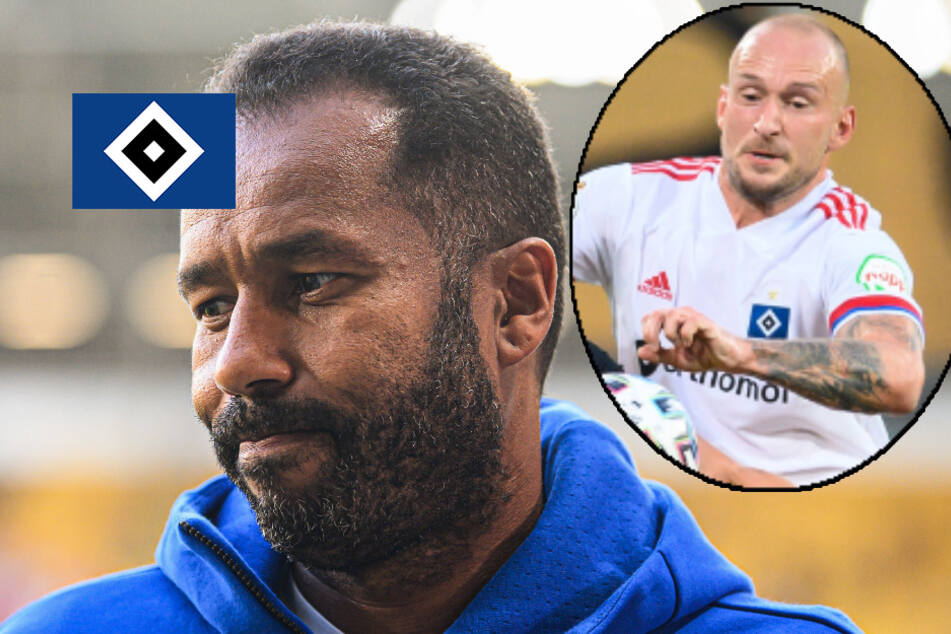Nach Fan-Attacke: Plant HSV-Coach Thioune noch mit Leistner?