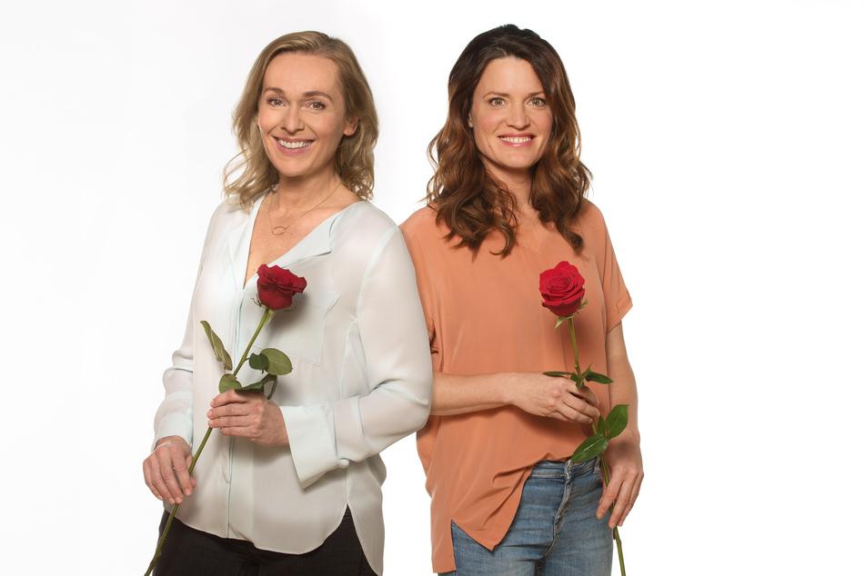 """Jana Hora-Goosmann (l.) und Judith Sehrbrock spielen bald die Hauptrollen in """"Rote Rosen""""."""