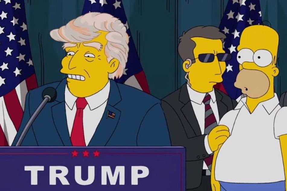 Vor 16 Jahren: Simpsons prophezeien Trump als Präsident