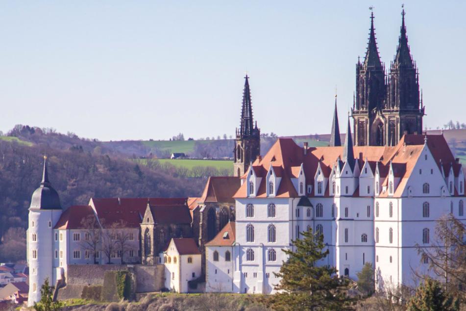 Das Schloss Proschwitz in Meißen.