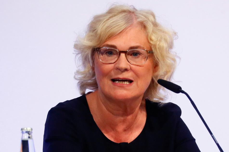 Christine Lambrecht (55, SPD), Bundesministerin für Justiz und Verbraucherschutz.