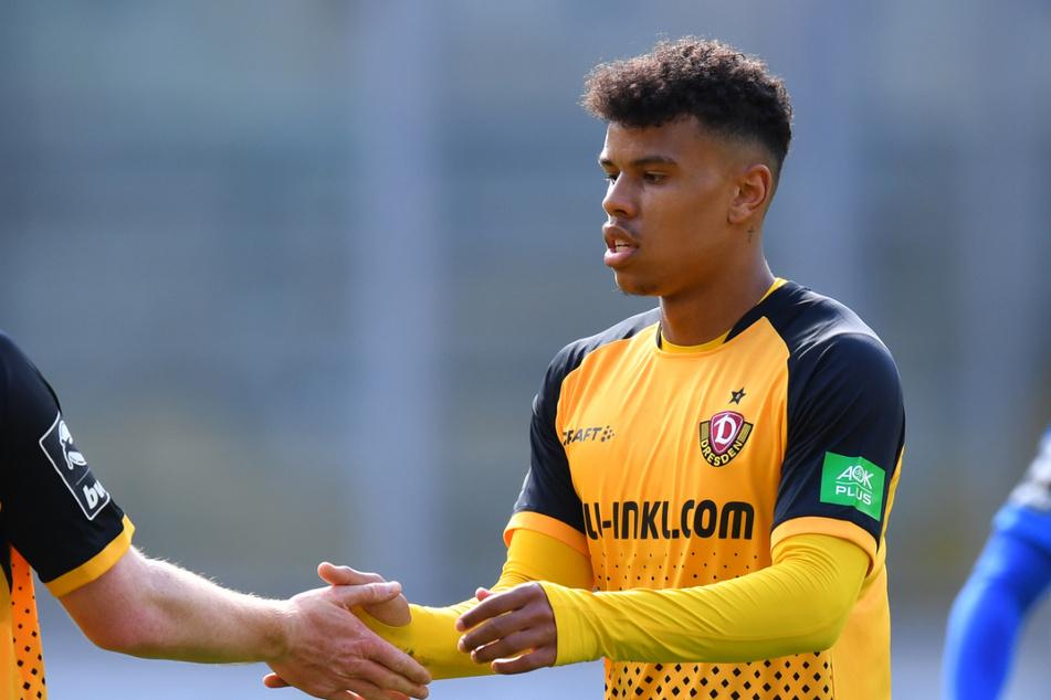 Dynamo-Offensivmann Ransford-Yeboah Königsdörffer (19) kann 14 Tage nicht mit der Mannschaft trainieren.