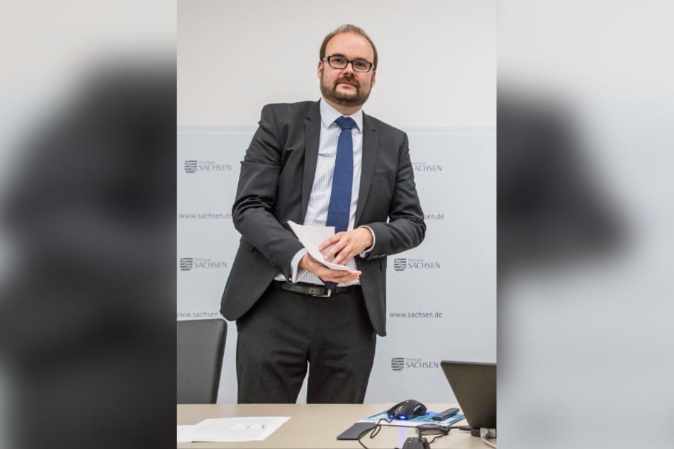 Christian Piwarz, Staatsminister für Kultus.