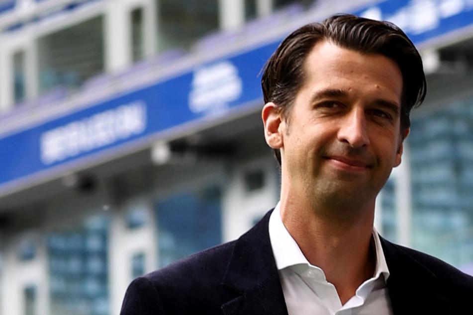 Jonas Boldt (38) hält für den HSV Ausschau nach einem weiteren neuen Spieler.