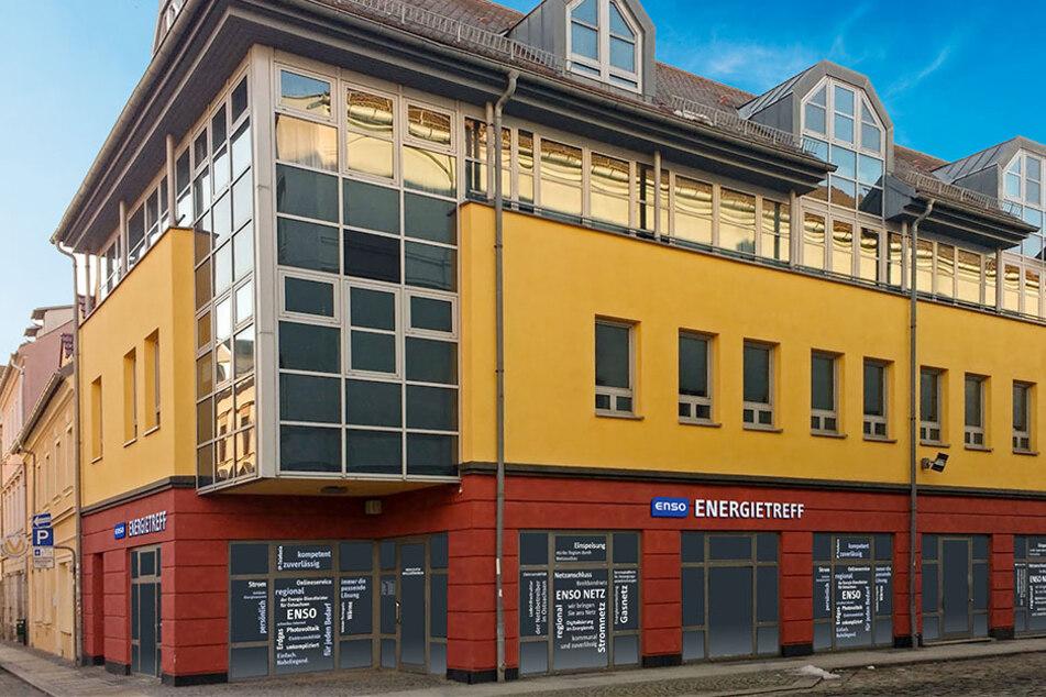 Die erste ENSO-Filiale auf der Klostergasse 1 in Großenhain.