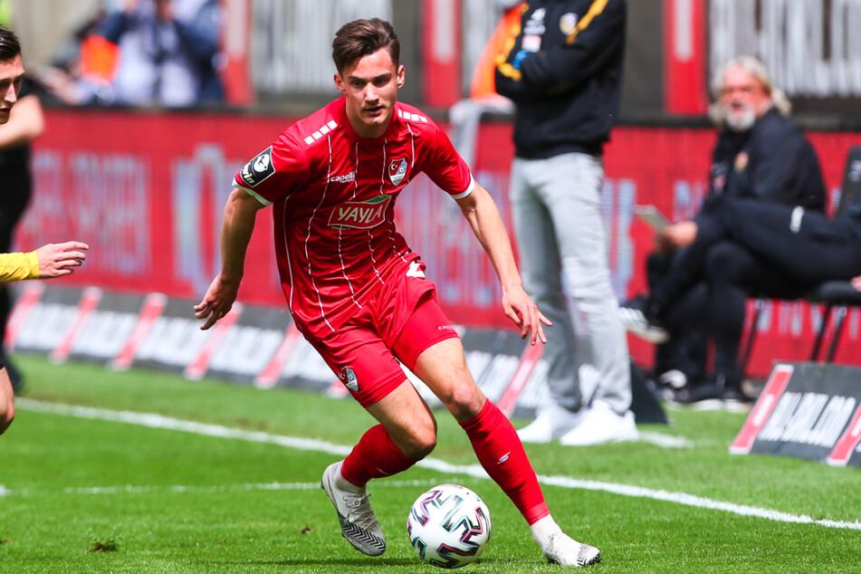 Omar Sijaric (19), hier noch im Türkgücü-Trikot, spielt künftig für den FC Erzgebirge Aue.