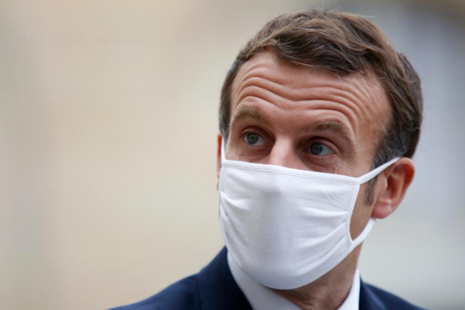 Frankreichs Staatschef Emmanuel Macron (42).