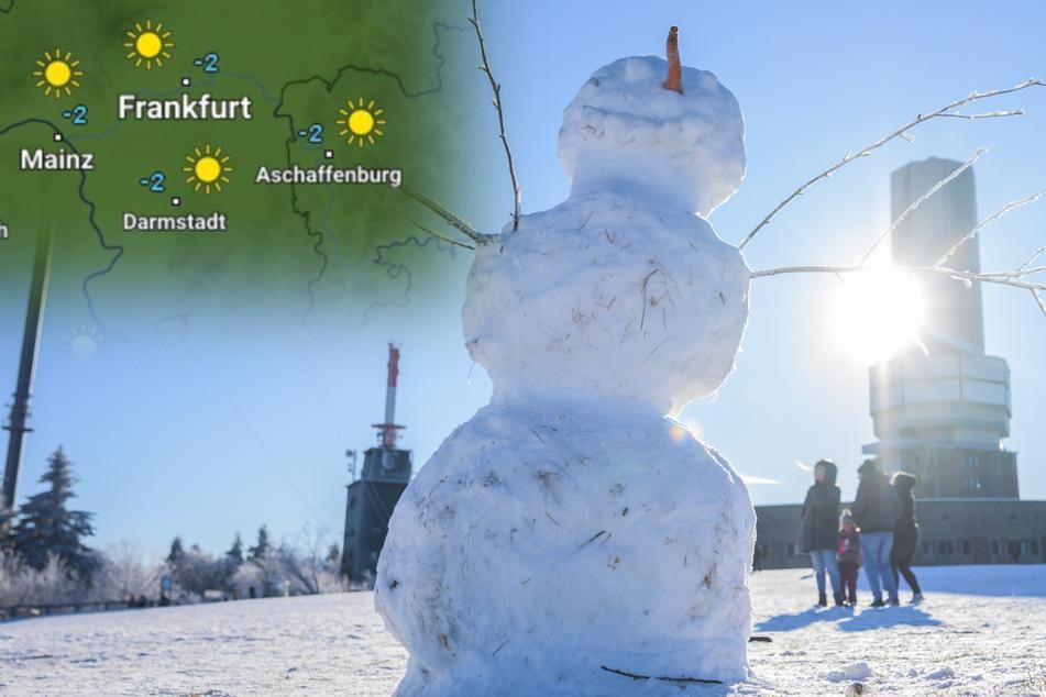 Nach dem Schnee kommt die Sonne: Das Hessen-Wetter bis zum Wochenende