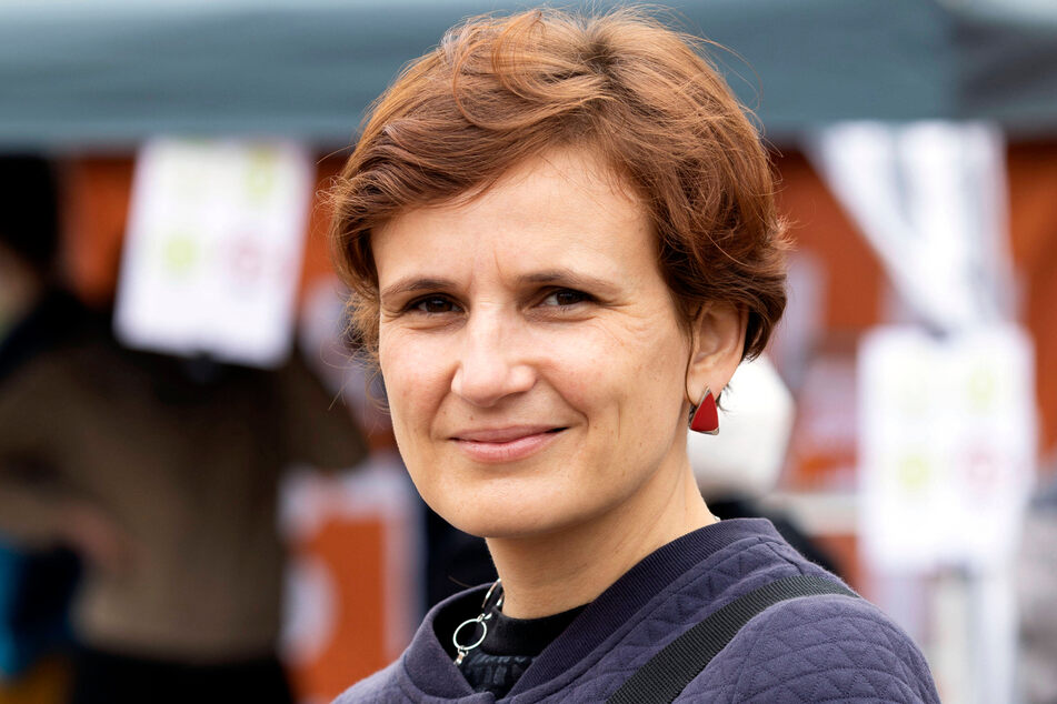 Linke: Bundestagsabgeordnete Katja Kipping (43).