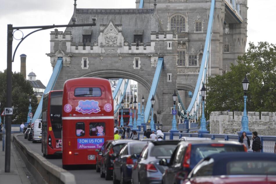 Chaos an der Londoner Towerbridge! Das ist der Grund