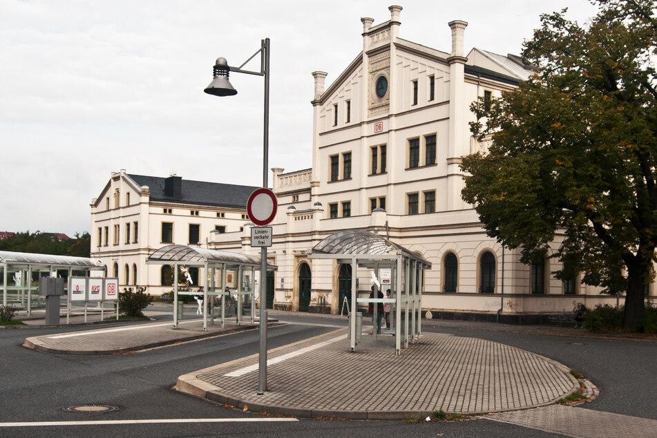 Der Unfall geschah am Zittauer Bahnhof. (Archivbild)