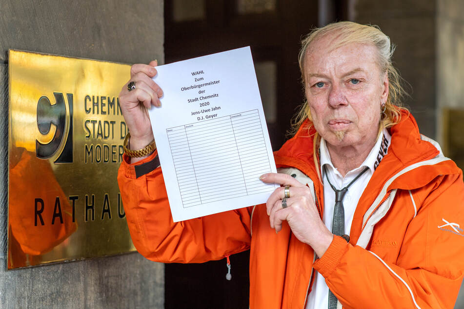Jens-Uwe Jahn alias DJ Geyer (57) hat 400 Unterschriften gesammelt. Die will er nicht verfallen lassen.