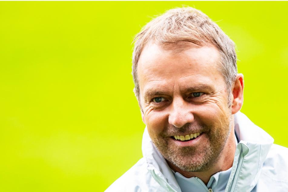 DFB-Coach Hansi Flick (56) trifft bei seinem Bundestrainer-Debüt auf Fußballzwerg Liechtenstein.