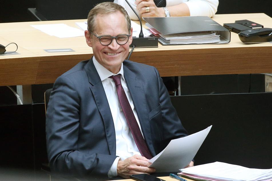 Michael Müller (55, SPD), Regierender Bürgermeister von Berlin.