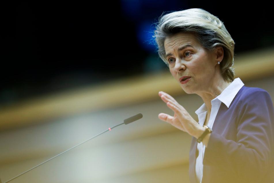 Ursula von der Leyen, Präsidentin der Europäischen Kommission.