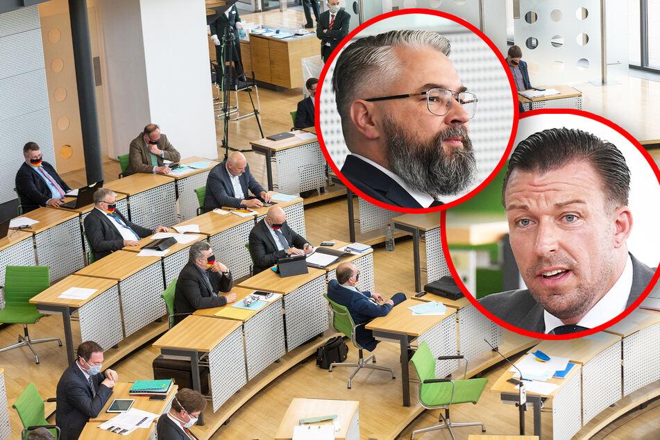 Zwei Landtagsabgeordnete weg, Zwickauer Fraktion halbiert: AfD in Sachsen bröckelt!