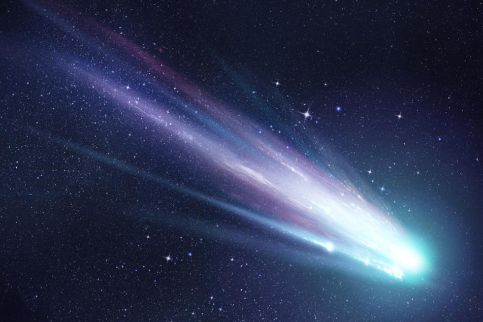 Viele denken fälschlicherweise, Meteore seien Sterne mit einem Schweif.