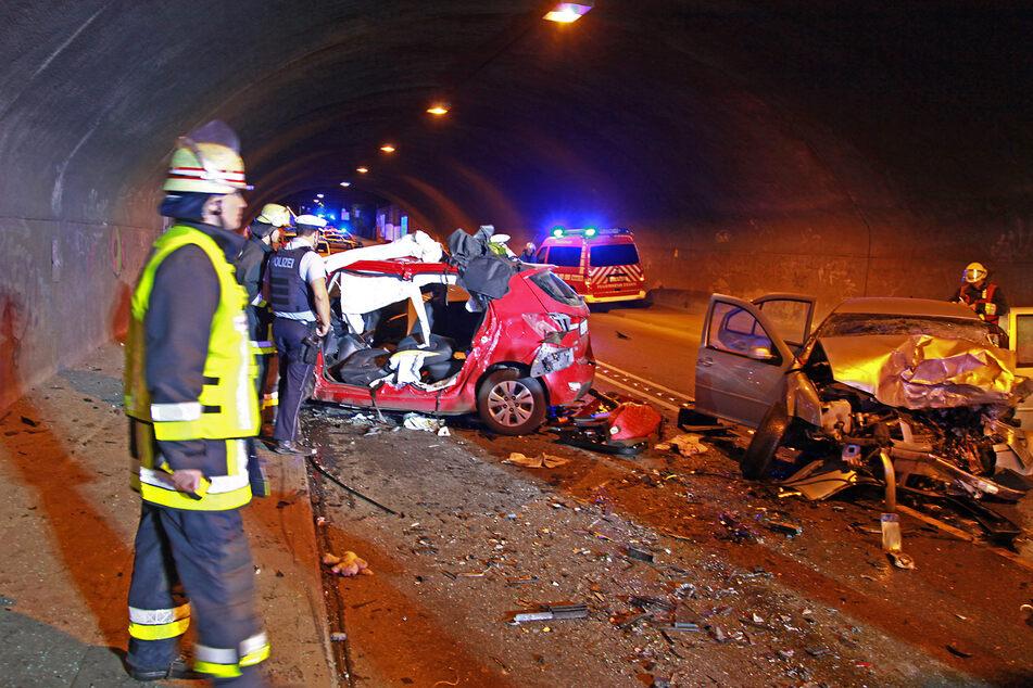 Zwei Tote bei Horror-Crash in Citytunnel