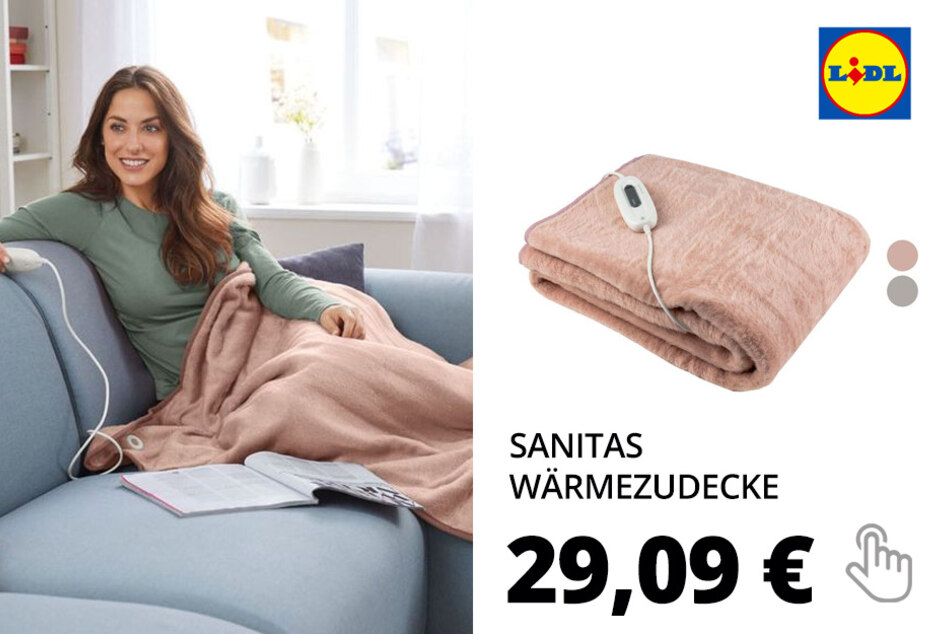 "SANITAS Wärmezudecke ""SHD 71"""