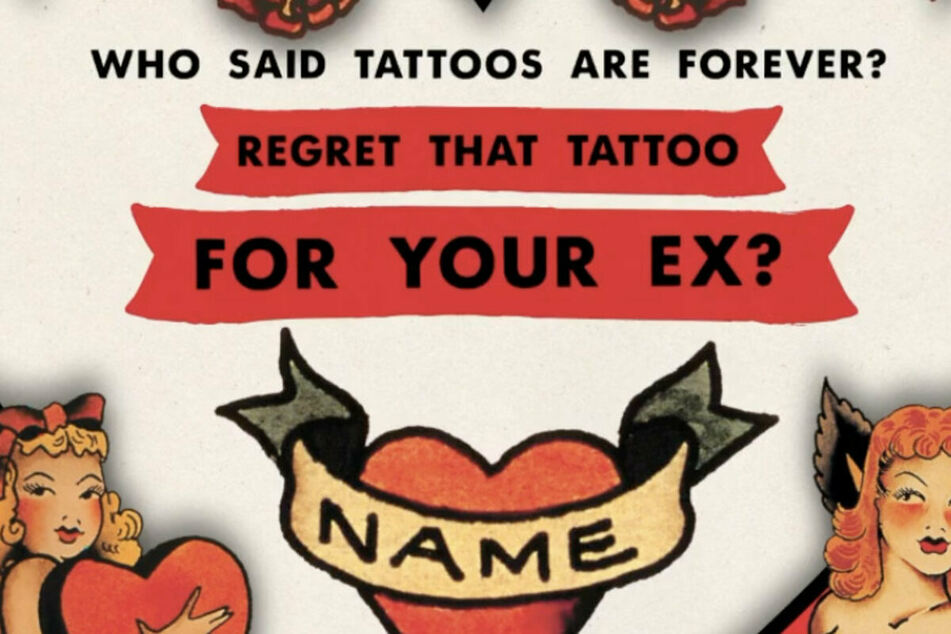 Ghost of Valentine's Day past: rum brand offers to cover up tattoos of exes