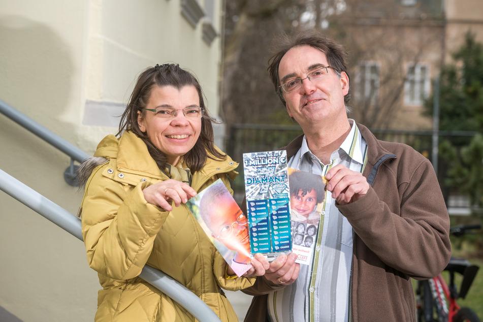 Lysann (43) und Michael Quaas (48) leiten nicht nur den Dresdner Calando Pflegedienst. Sie bieten auch Corona-Schnelltests an und unterstützen von Herzen Hilfsorganisationen.