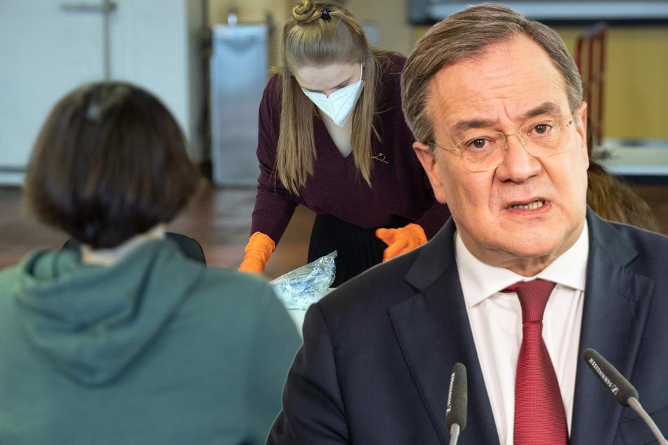 Armin Laschet droht Corona-Testpflicht für Schüler in NRW an