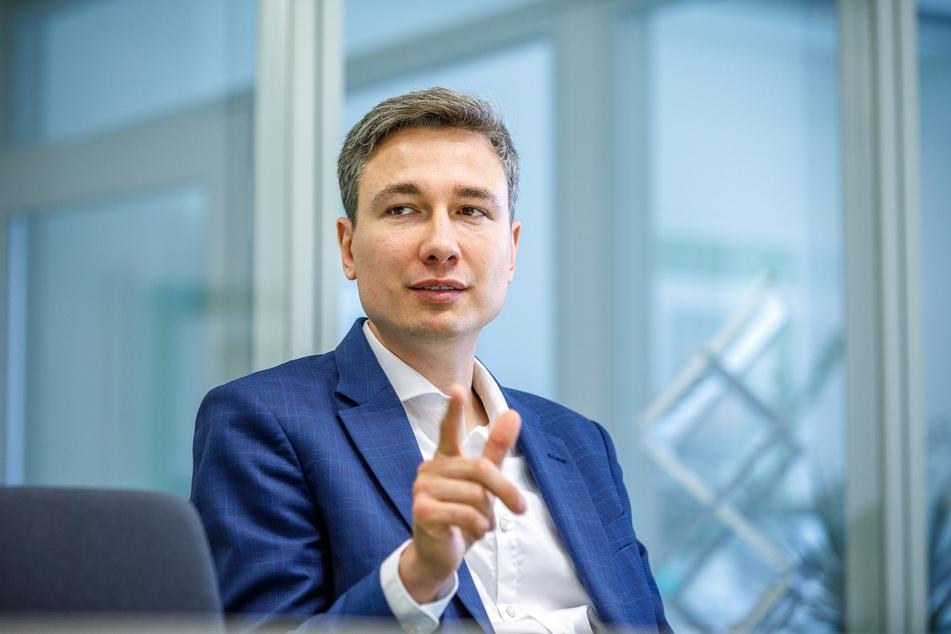 Baubürgermeister Stephan Kühn (41, Grüne) hat die Ergebnisse der Bürgerbefragung vorgestellt.