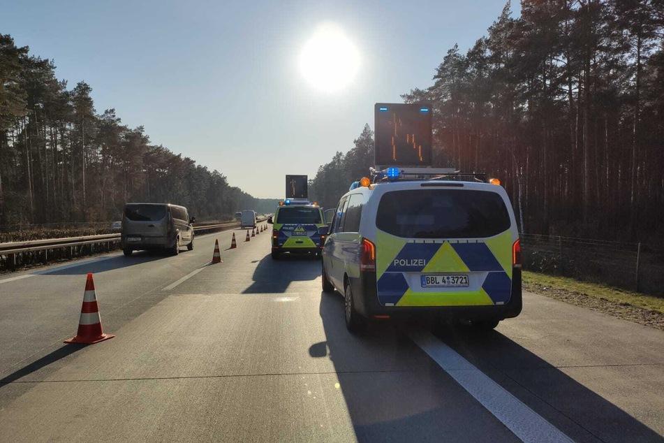 Auf der A12 ist es am Mittwochnachmittag zu einem Unfall gekommen.
