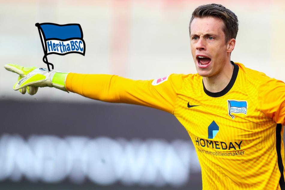 Bleibt Schwolow jetzt bis Saisonende im Hertha-Tor?