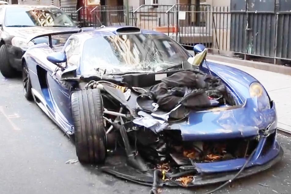 800.000 Euro Porsche komplett zerstört: Der Fahrer ist dafür bekannt!