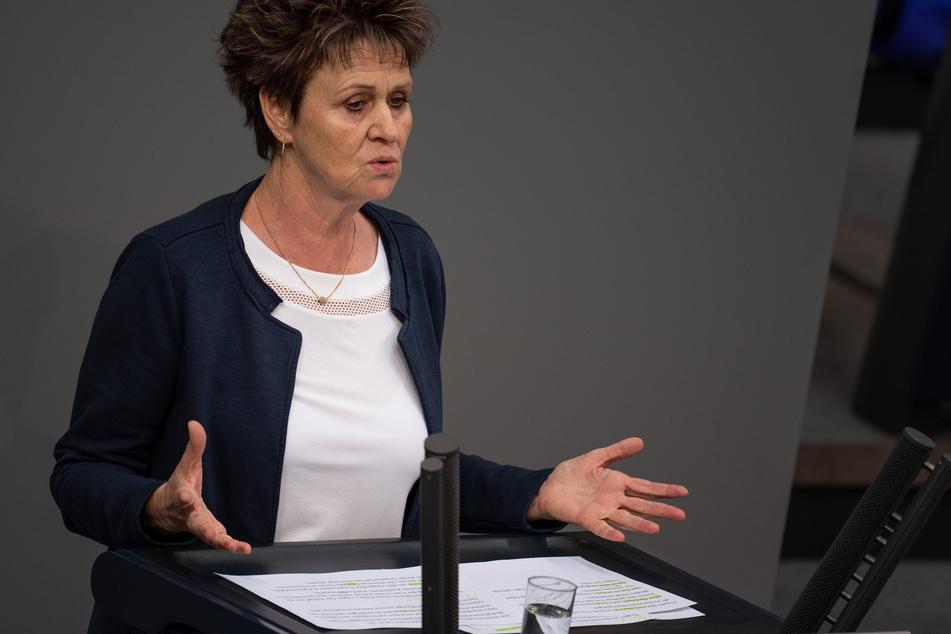 Die Linken-Abgeordnete Sabine Zimmermann (60).