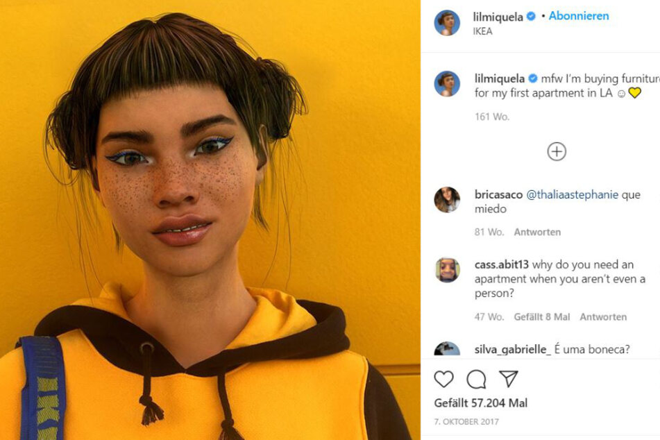 Three years ago, Lil Miquela looked a lot more artificial than she does today.