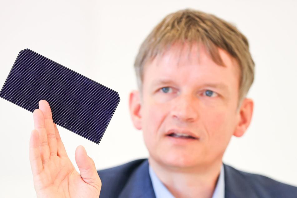Gunter Erfurt (48), Geschäftsführer des Solarmodul-Herstellers.