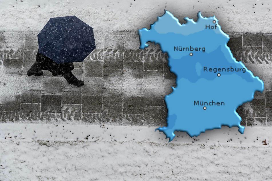 Regen, Schnee und etwas Sonne: Wetter in Bayern wird wechselhaft